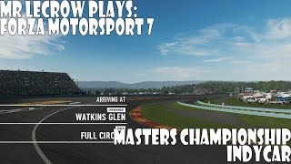 Mr LeCrow Plays Forza Motorsport 7: Masters Championship - IndyCar Series Race 5