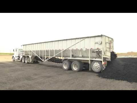 Trinity Trailer - Transporting Sludge