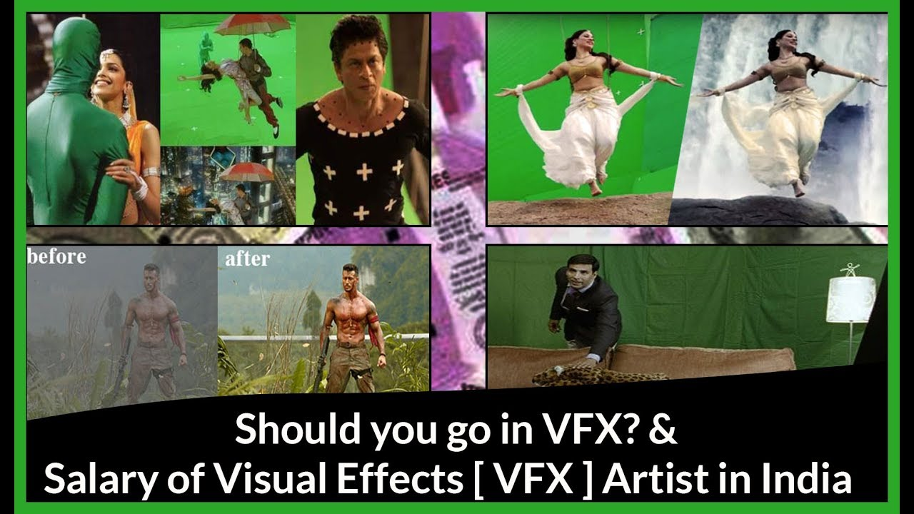 Salary Of Visual Effects Artists In India If You Have Choose Carrier Options In Vfx In 2 Min Youtube