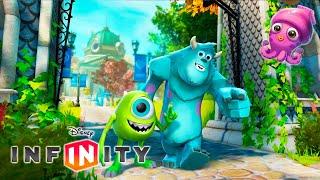 Gambar cover Monsters Inc University på Svenska - Barnspel Tecknat för Små Barn - Disney Infinity 1.0