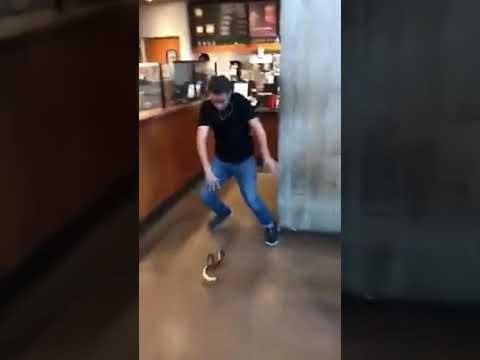 Most funny clip of 2017 Cobra in public.America