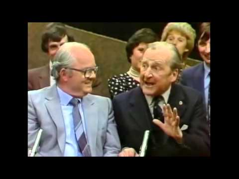 The Cork Accent Explained By James Healy - Gay Byrne Late Late Show From Cork 1982