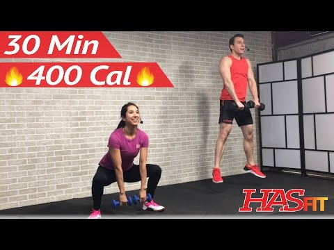 30 Minute HIIT Tabata Workout for Fat Loss & Strength: High Intensity Interval Training Home Routine