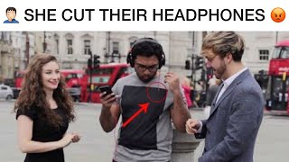 Wireless Headphones Prank 😂