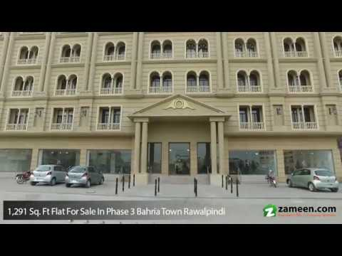 1,291 Sq. Ft. LUXURY APARTMENTS FOR SALE IN THE GRAND PHASE 3 BAHRIA TOWN RAWALPINDI