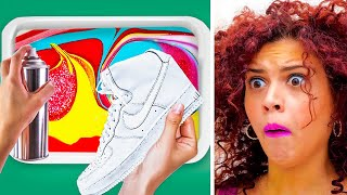 customize-your-sneakers-with-hydro-dipping-genius-decor-hacks-by-123-go-gold