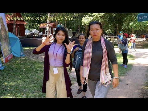 Sambor Prei Kuk Temples Site at Kampong Thom Province in Cambodia | Ancient Temple in Southeast Asia