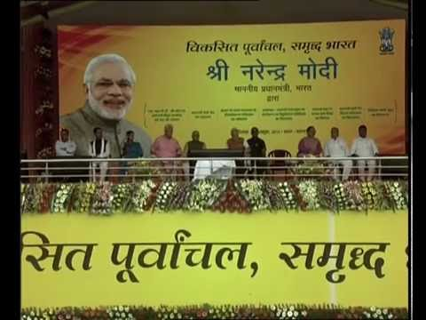 PM Modi launches multiple schemes at Varanasi