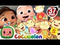 Five Little Monkeys Jumping on the Bed + More Nursery Rhymes & Kids Songs - CoComelon