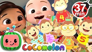 Download Five Little Monkeys + More Nursery Rhymes & Kids Songs - CoCoMelon Mp3 and Videos
