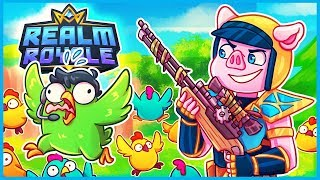 TURNING PEOPLE into CHICKENS in Realm Royale! (Realm Royale Funny Moments &amp Fails)