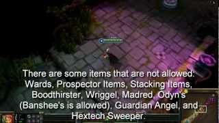 League of Legends - NEW All Random All Mid ARAM Map and Rules - Proving Ground