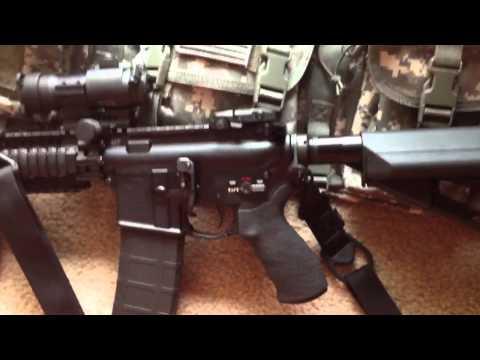 My LMT Defender 2000 AR-15