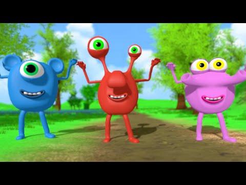 Lära engelska sången för barn | Barnsång med text på både svenska och engelska