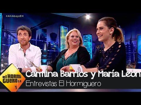 Carmina Barrios y María León en 'El Hormiguero 3.0'  El Hormiguero 3.0