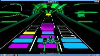 Audiosurf - The Cure - Lovesong (Extended Mix)