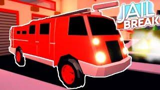 🚒 *NEW FIRE FIGHTING CAR* UPDATE IN ROBLOX JAILBREAK
