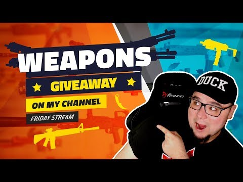 Come Get Some Weapons! Custom Games, The Livestream! [Bullet Force]