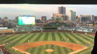 Tribute to Ernie Banks at the Chicago Cubs Opening Day 2015
