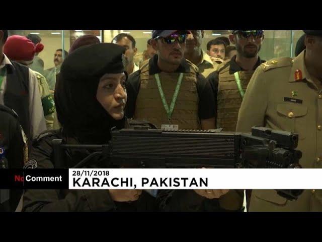 Международная выставка оружия в Карачи
