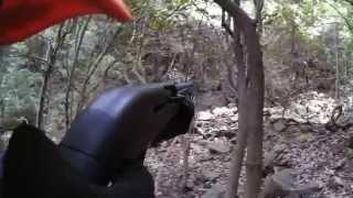 【閲覧注意】衝撃!スゴい勢いで迫ってくるオス鹿を仕留めた瞬間「PanasonicウェアラブルカメラHX-A1Hで狩猟を撮影」Japanese Deer Hunting