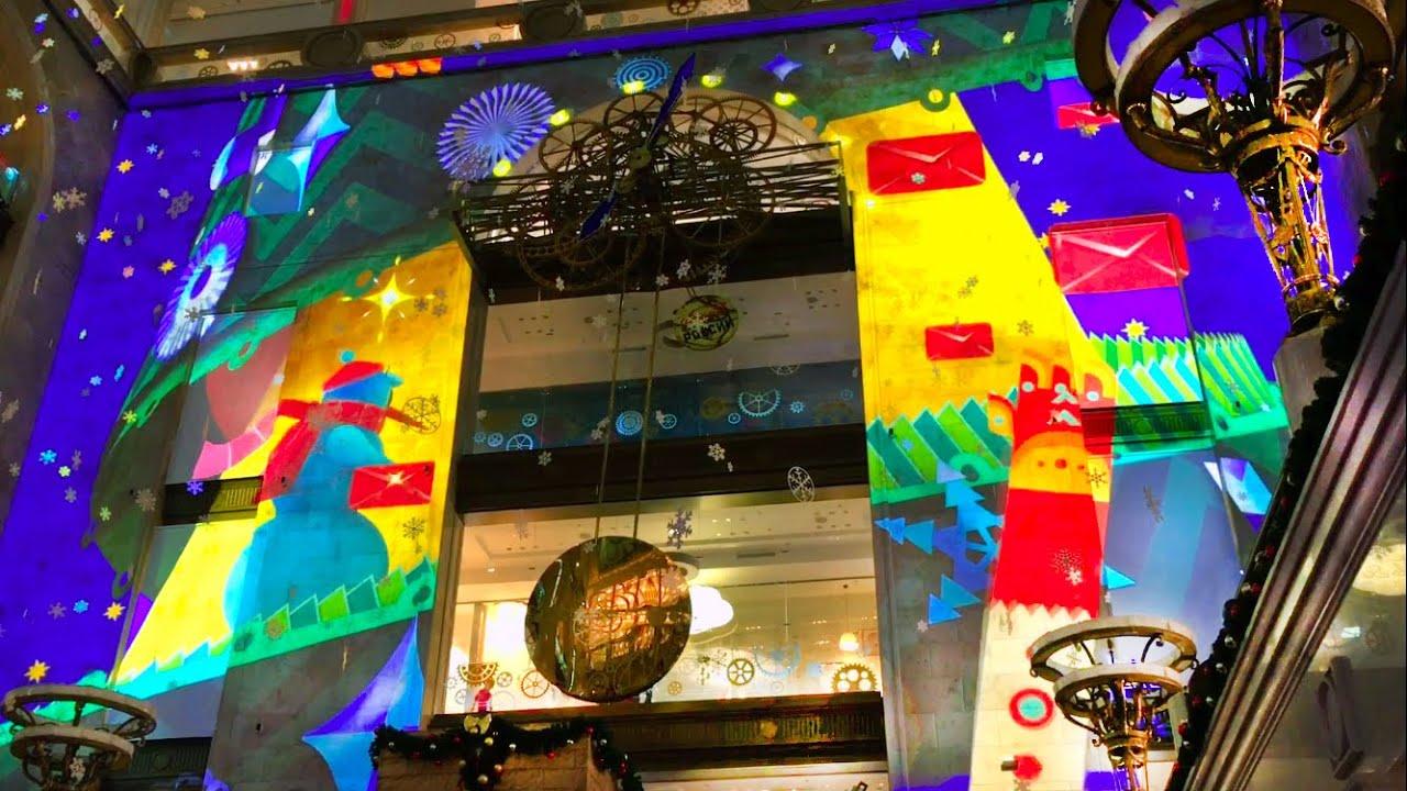 VLOG Детское новогоднее представление в ЦДМ - знаменитый Детский Мир Видео для Детей