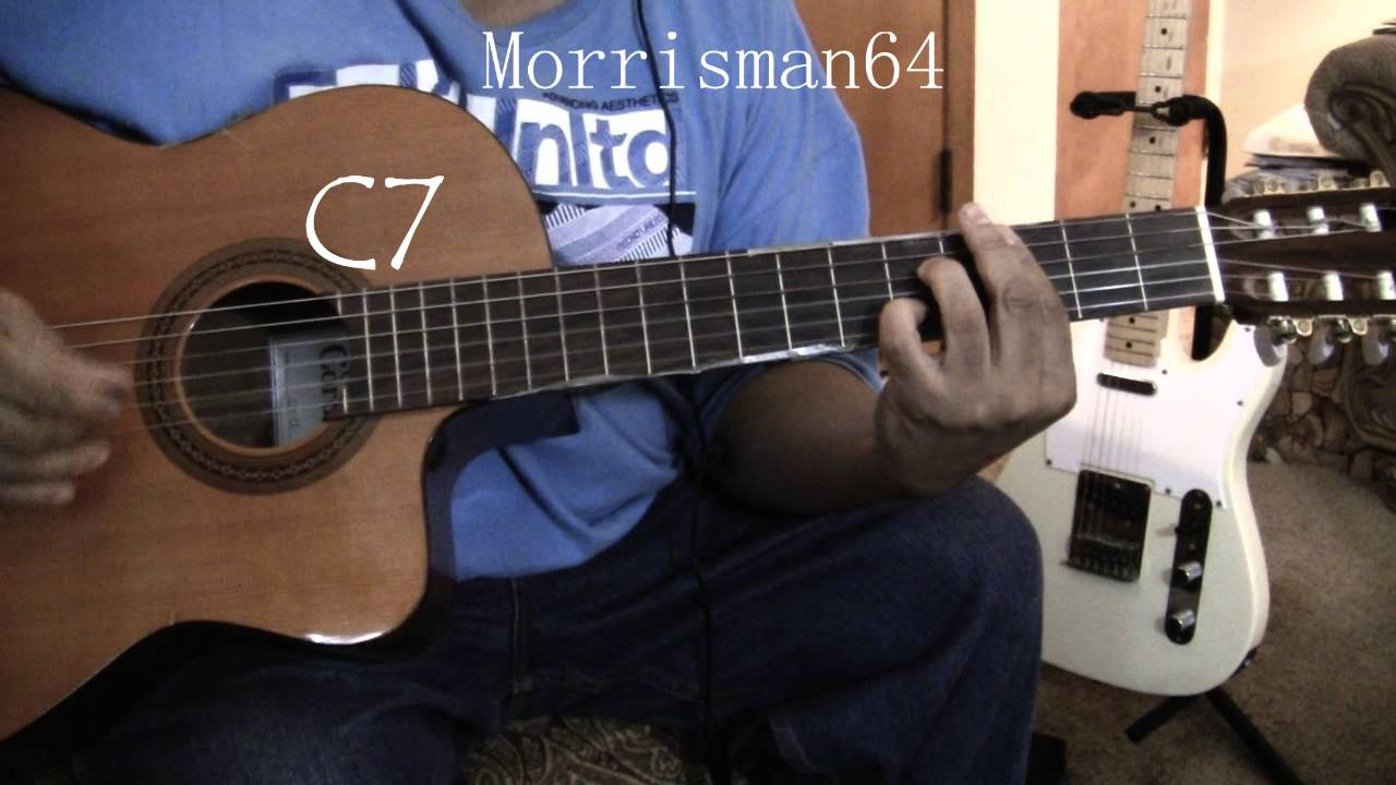 Neil Diamond Song Sung Blue Guitar Cover With Chords Youtube