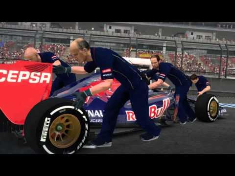 IRL F1 Championship - Russian GP onboard Daniel Munoz