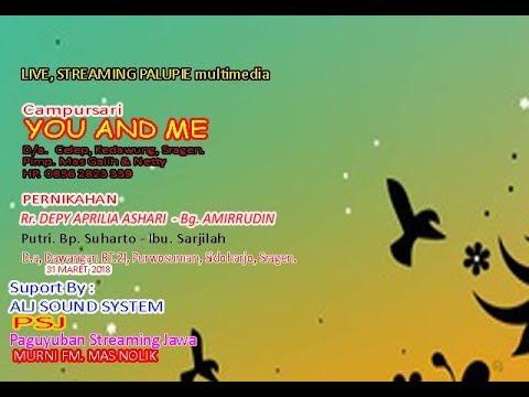 Live Streaming PALUPIE multimedia. Sesion.//CS. YOU AND ME// ALJ SOUND  - LIVE .Dawangan.Pws -Sragen