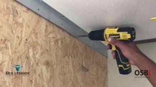 Painel OSBi® - Montagem dos Painéis SIP Divisória