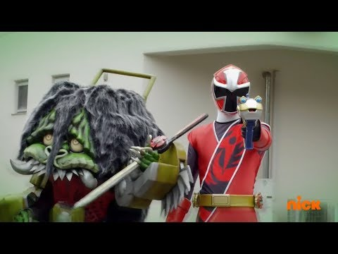 Power Rangers Super Ninja Steel - Power Rangers Vs Red Ranger & Game Goblin | Episode 5