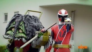 Power Rangers Super Ninja Steel - Power Rangers vs Red Ranger Game Goblin Episode 5 Game Plan