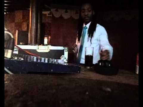 Reputable Dj Tinky on the 1's & 2's at Moyo Ushaka Marine DURBAN JULY 2013 part 1