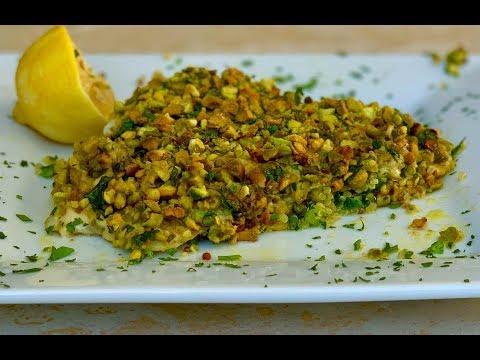 Pistachio Crusted Barramundi White Fish | 6 ingredient recipe
