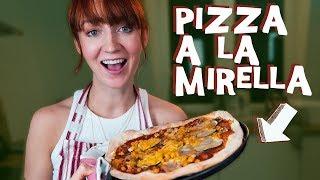 Mein absolutes Lieblingsessen: PIZZA (schnell, einfach, vegan)