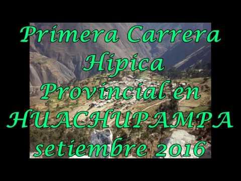 CARRERA PROVINCIAL HUACHUPAMPA 2016