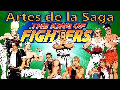 Artes de la saga The King of Fighters - Shinkiro - (Todos los personajes del Kof 94 al Kof 2000)