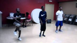 Euell A. Wilson Center-MS boys hiphop praise dance