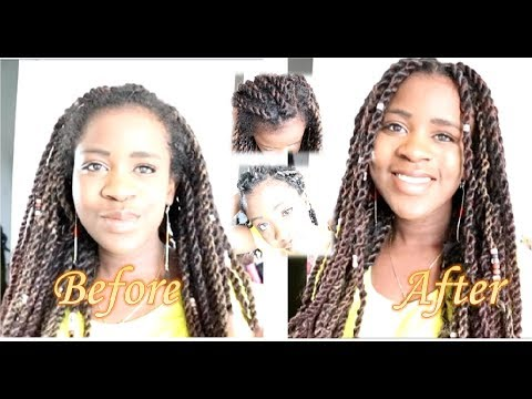 Clean up Old Senegalese Twists | 5 Easy steps