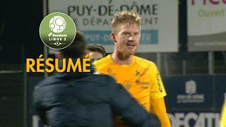 Clermont Foot - Stade Brestois 29 (1-2)  - Résumé - (CF63 - BREST) / 2017-18