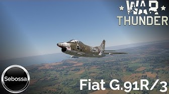 War Thunder - Fiat G.91R/3  - Gina goes wild - deutsch