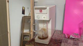 일리 Y3.3 화이트 커피머신 개봉기!