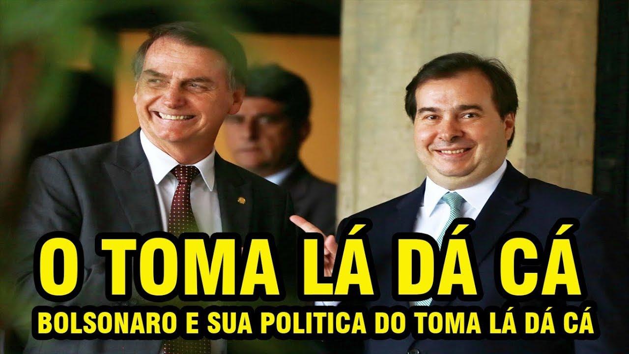 Resultado de imagem para Bolsonaro no toma-lá-dá-cá