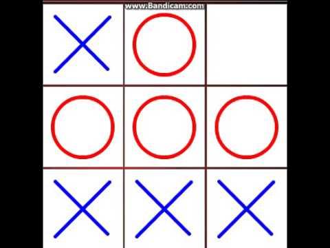 3 способа выиграть в крестики нолики