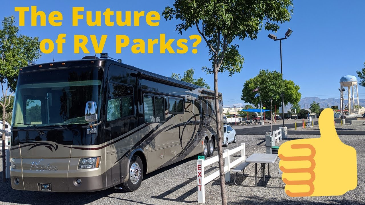 RV PARK WITH NON CONTACT CHECK IN