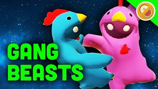 the hilarious derpy game   gang beasts multiplayer gameplay funny moments