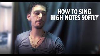 how to sing really high