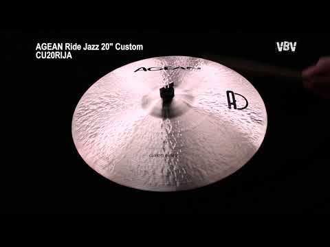 "Ride Jazz 20"" Custom video"