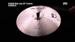 "20"" Ride Jazz Custom video"