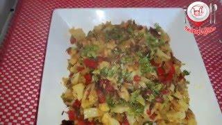 Bengali style  Mixed vegitable with salmon fish ( মাছ দিয়ে মিশ্র সবজি রেসিপি) |easy,healthy recipe